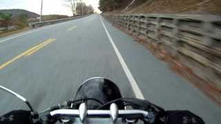R75/57R Fast run, stop & go traffic, epic red lights, low-speed maneuvers