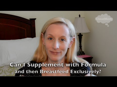 Can You Supplement With Formula & Then Exclusively Breastfeed? | CloudMom