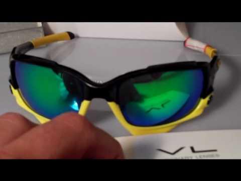 1cb8b92b10 Polarized Emerald Green Visionary Lenses for Oakley Jawbone Sunglasses -  YouTube