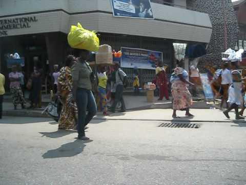 Street scene in Accra