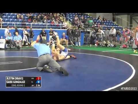 170 Cons. Round 2 - Gabe Gonzalez (Florida) vs. Justin Dravis (Minnesota)