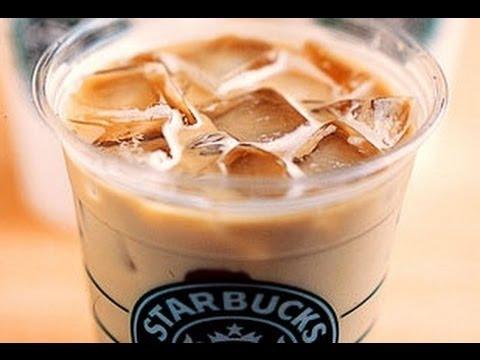 How To Make Starbucks Iced Vanilla Latte