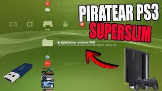 INCREÍBLE! MÉTODO PARA PIRATEAR PS3 SUPERSLIM! O CUALQUIER PS3! TIENES QUE HACER ESTO!