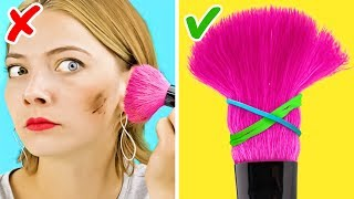 35 BRILLIANT MAKEUP HACKS