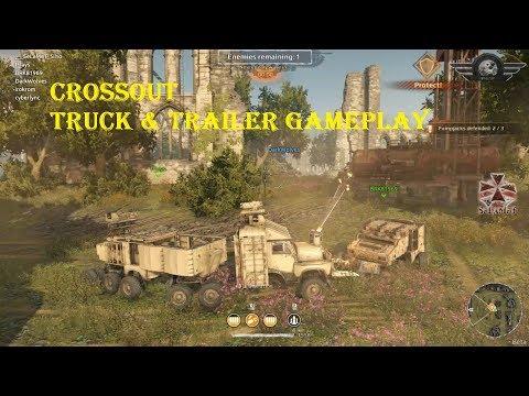 Crossout Truck & Trailers Co-op Gameplay + Bonus