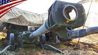 北海道で米軍M777・155mm榴弾砲の実弾射撃訓練