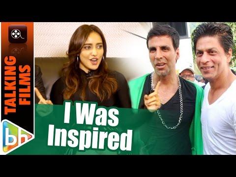 I Was Inspired By Akshay Kumar & Shah Rukh Khan | Neha Sharma