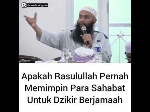 Apakah Rasulullah Pernah Memimpin Para Sahabat Untuk Dzikir Berjamaah - Ustadz Syafiq Riza Basalamah