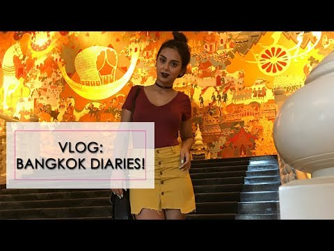 VLOG: My Bangkok Trip | Where To Eat, Party, Shop, Chill | What When Wear