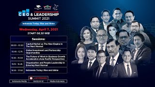 CEO & Leadership Summit 2021Indonesia Today: Rise & Shine