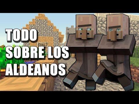 Todo Sobre Los Aldeanos - Minecraft En Español