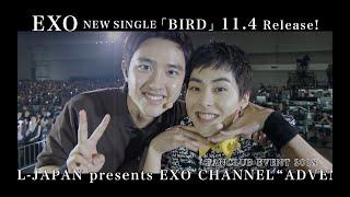 EXO / New Single「BIRD」収録[FANCLUB EVENT 2018 & a-nation 2018]ティザー映像