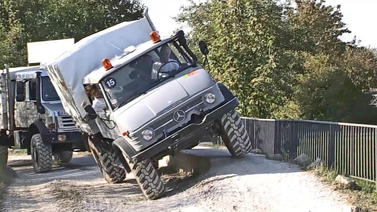 Mercedes Benz Unimog Off Road Test Drive Youtube