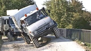Mercedes-Benz UNIMOG - Off-Road Test Drive