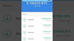 "Automatic *BITCOIN* Payment Review- How to Make it ""RAIN"" #Bitcoin When The Buy In Price is High"