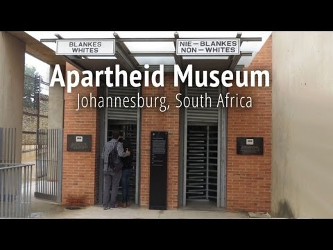 Apartheid Museum in Johannesburg, South Africa