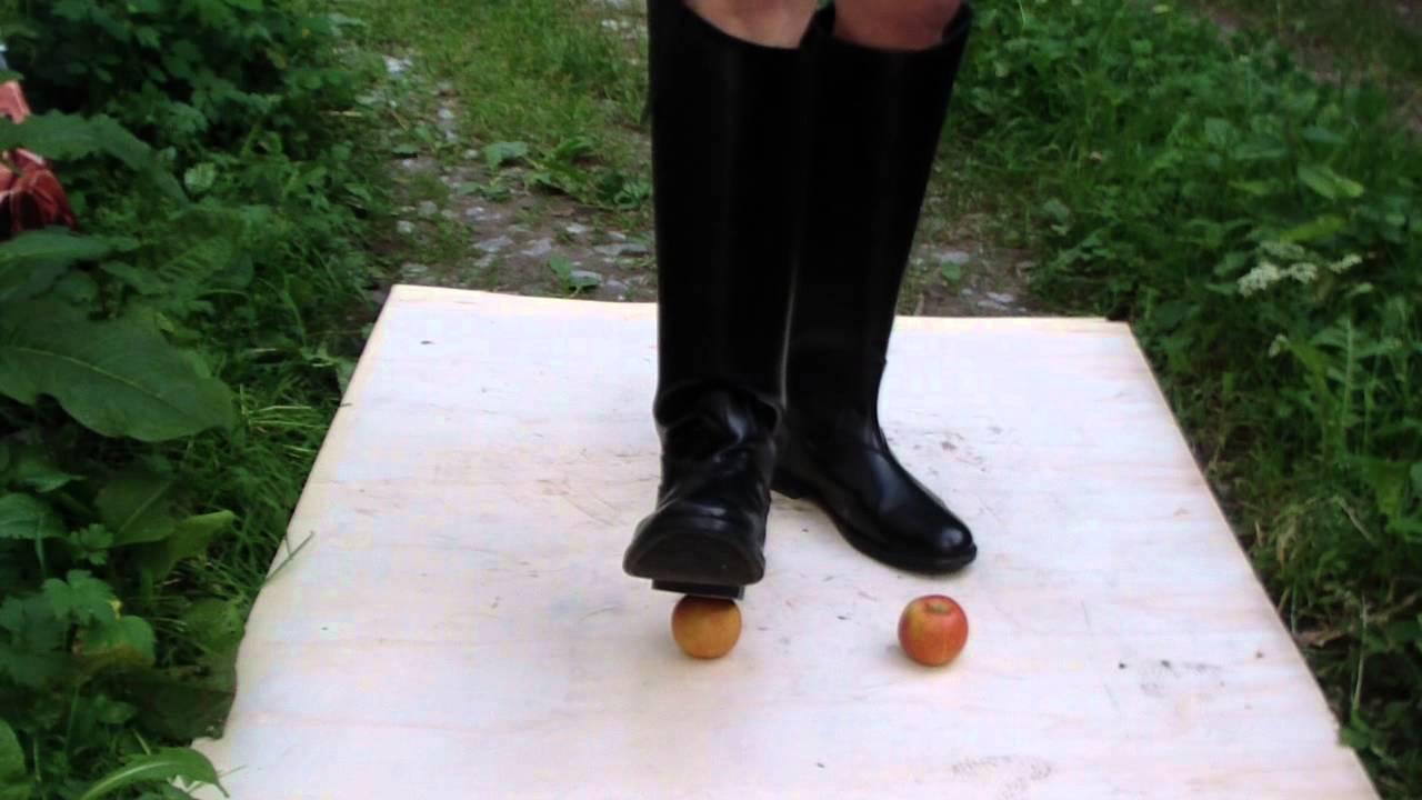 Trampling boots
