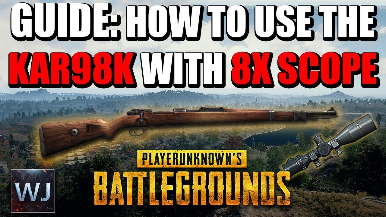 Download [OUTDATED] GUIDE: How to use the Kar98k with 8X SCOPE in PLAYERUNKNOWN's BATTLEGROUNDS (PUBG)