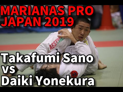 Takafumi Sano vs Daiki Yonekura / Marianas Pro Japan 2019