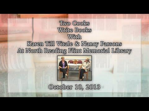An Evening At Flint Memorial Library - Authors Karen Till Vitale and Nancy Parsons