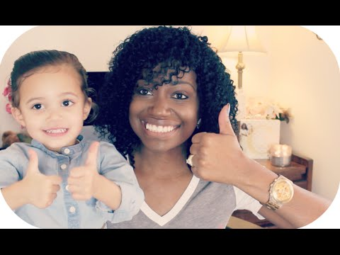 Mixed Kids Hair Care Amp Basic Hairstyles Ft Curly Kids