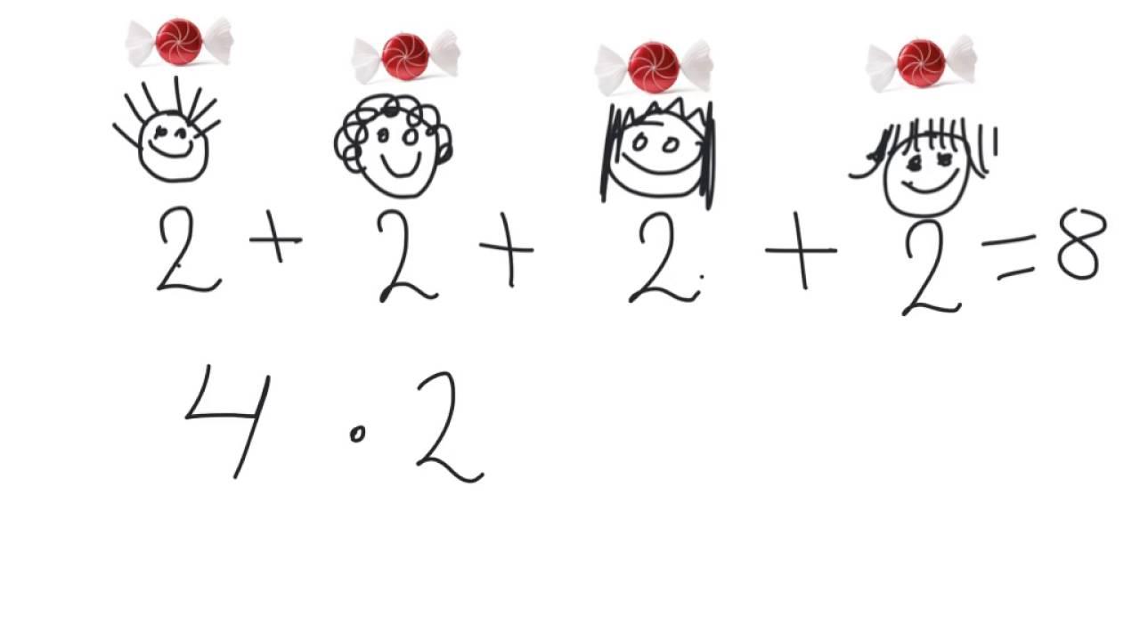Multiplikation för nybörjare 4x2
