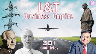 L&T Business Empire (30+ Countries) | How big is L&T? | Larsen & Toubro | AM Naik