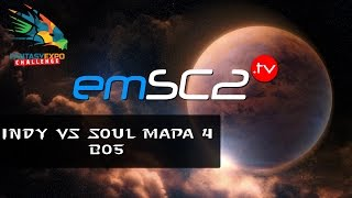 PvT  Indy vs Soul  -g4 -  FEC#7 Starcraft 2 Lotv -  Polski komentarz