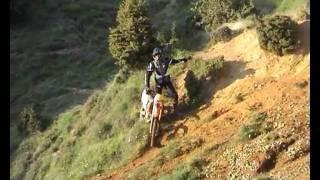 enduro ride kissavos Greece (μια Κυριακή στον Κίσσαβο).wmv