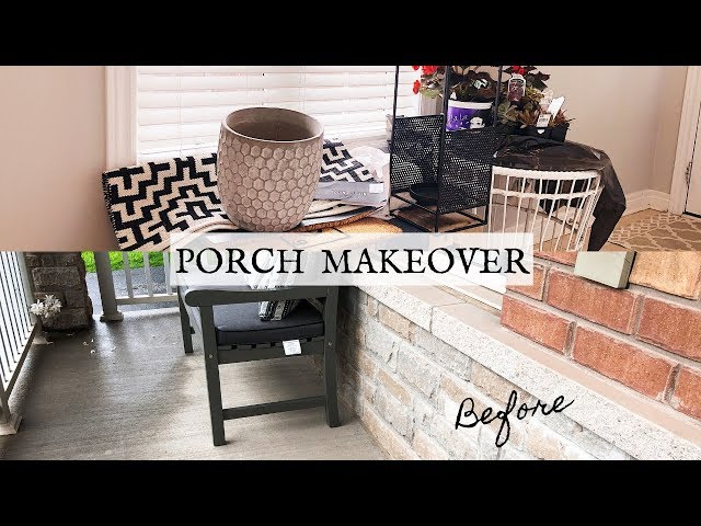 PORCH MAKEOVER PT 1 | HAUL | Nesting Story