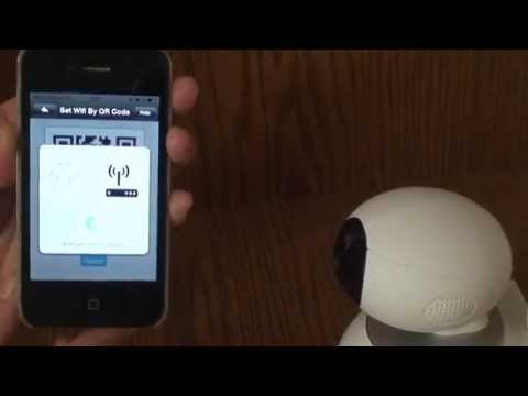C4: SET SMART CAMERA WIFI BY QR CODE
