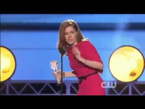 Amy Adams WINS Critics Choice Awards 2014   Amy Adams Acceptance Speech