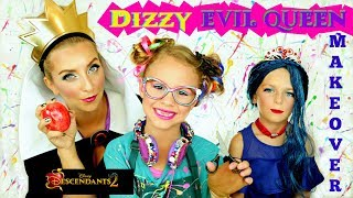 Descendants 2 Dizzy and Evil Queen: Makeup and Costume