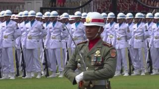 Komandan Upacara HUT RI ke-71 di Istana Presiden