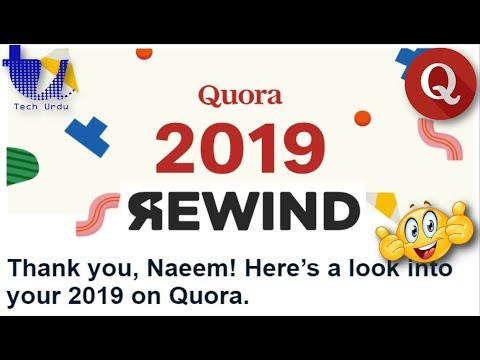 ⏪ Quora 2019 - REWIND 🎖⏪