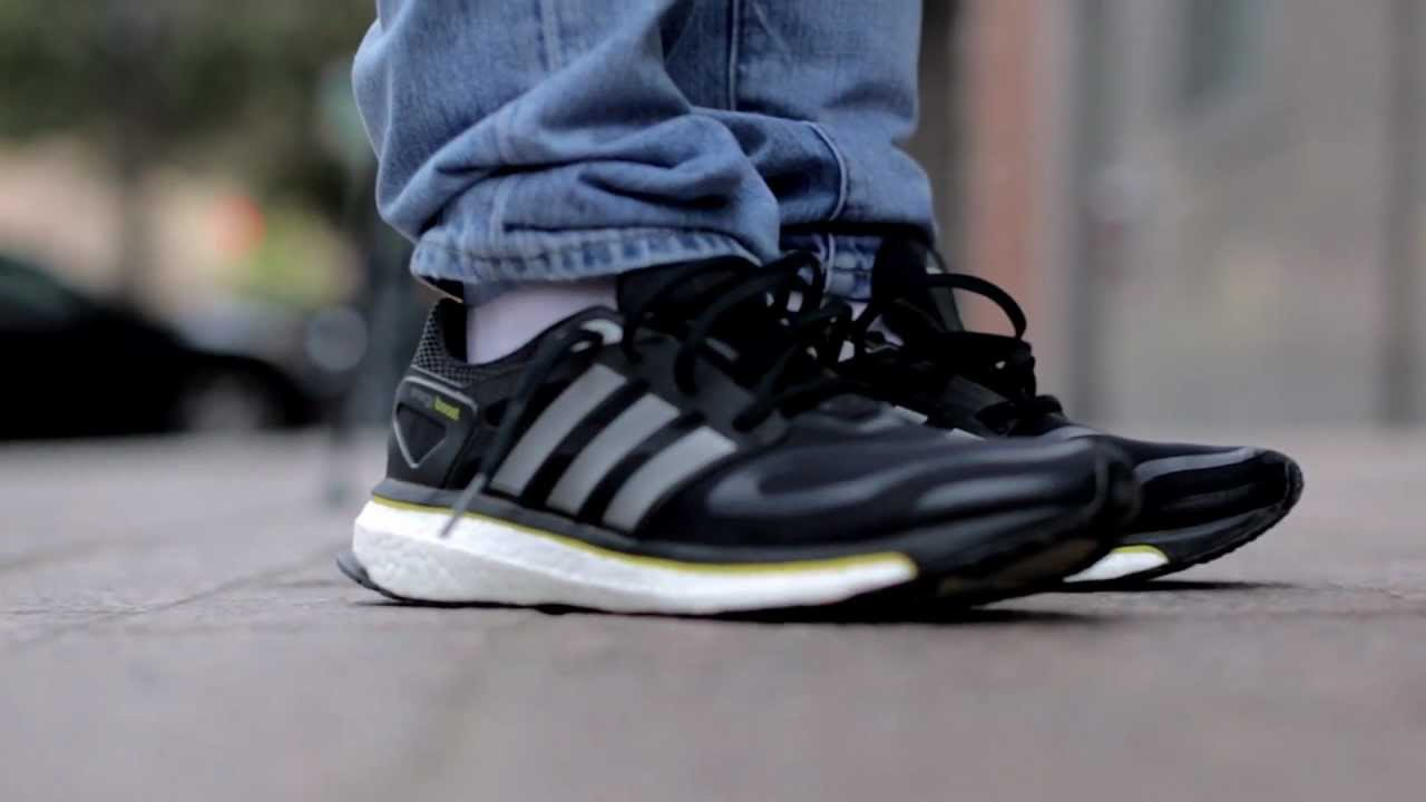 Trastorno Engaño único  adidas Energy Boost- Live Look - YouTube