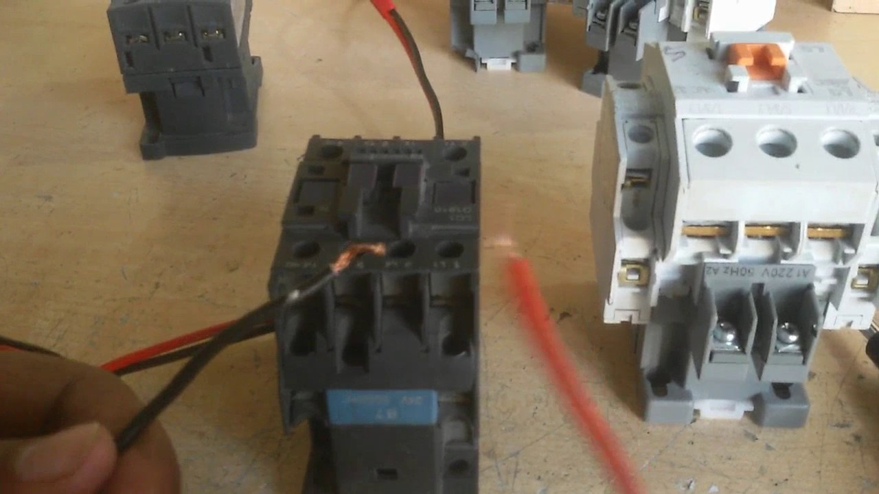 How To Test A Magnetic Contactor What Is 1 Pole Relay Wiring Use It