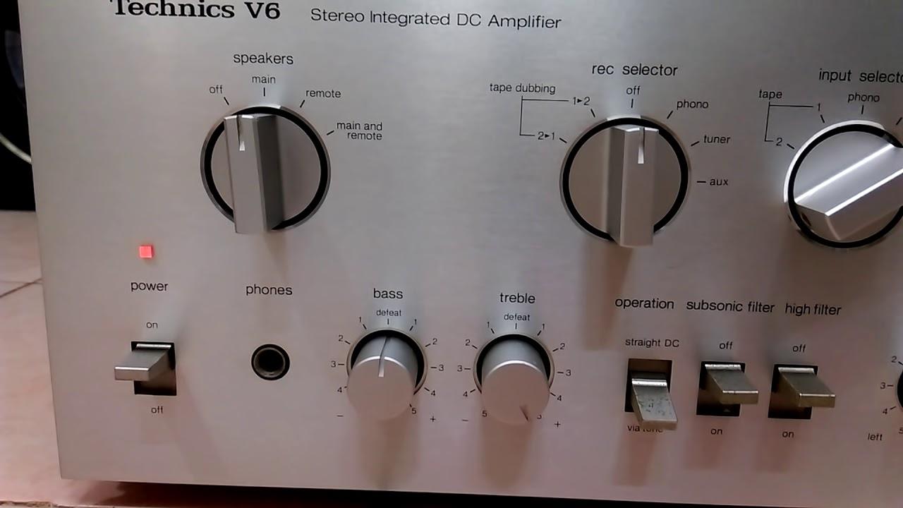 ( Đã bán ) Ampli Technics V6 : Nội Lực Thâm Hậu !