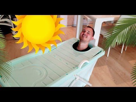 Раскладная чудо-ванна из Китая для детей и взрослых