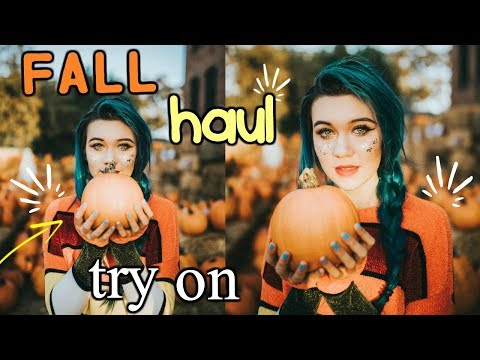 HUGE Fall Try-On Haul 2017 (Hot topic, Forever 21, Memes)