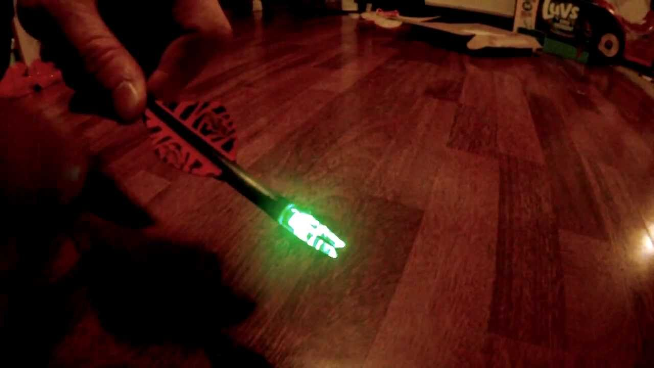 Turning Off The Tgb Tail Lite Led Lighted Nock Youtube