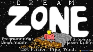 Dream Zone gameplay (PC Game, 1988)