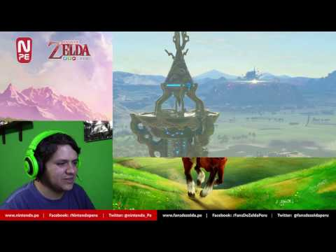 Reacción: The Legend of Zelda: Breath of the Wild Trailer - Nintendo Switch