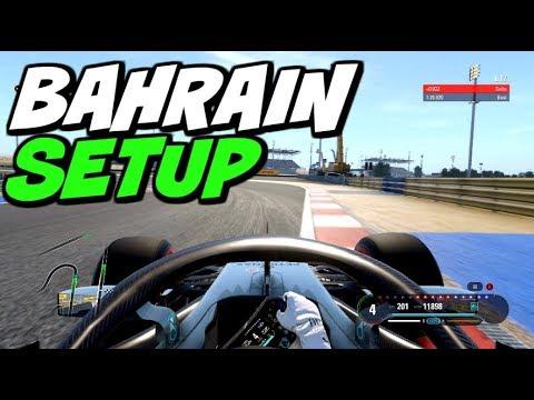 F1 2018 BAHRAIN HOTLAP + SETUP (1:25.786)