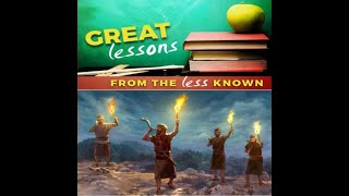 Great Lessons from the Less Known - Dr. Leslie Verghese