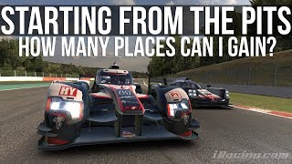 iRacing - Starting From The Pitlane | How Many Places Can I Gain?