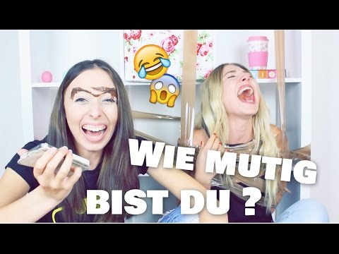 WER IST MUTIGER ?! .. Bibi vs. Schwester ♥ BibisBeautyPalace