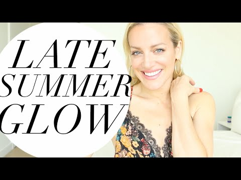 LATE SUMMER GLOW GRWM | TRACY CAMPOLI | EASY NATURAL MAKEUP UPDATED SKINCARE