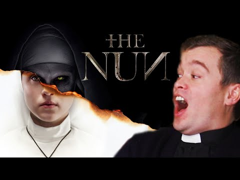 """BRITISH PRIEST Reacts to """"The NUN""""!!"""