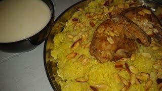 Мансаф (сметанный суп)